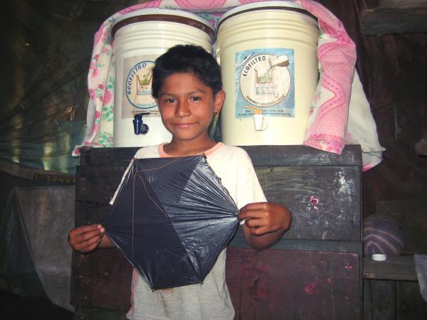 Wasserfilter für Guatemala