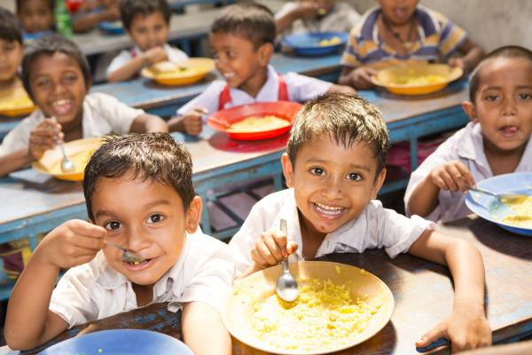 School Meals – a full stomach makes it easier to study