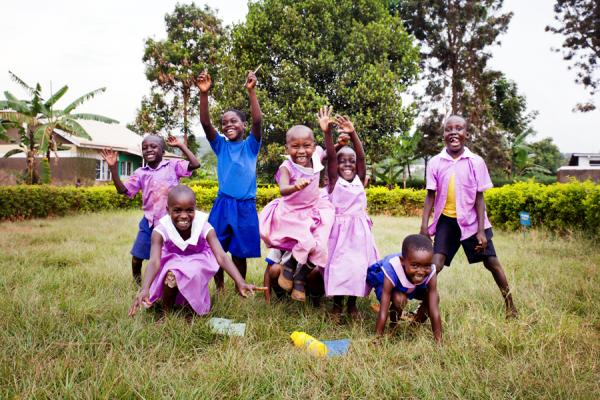 School for children in Uganda