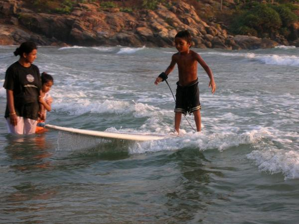 Insure Kids of Kovalam Surf Club