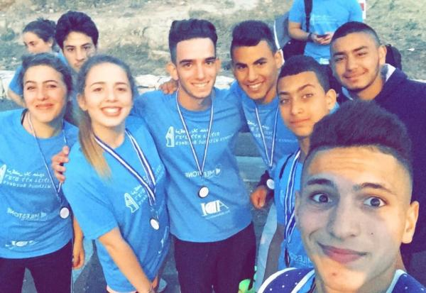 Israeli-Palestinian Youth Running Teams