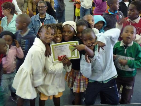 Education for a child from Khayelitsha township