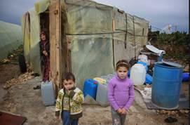 Winter-Pakete für syrische Geflüchtete